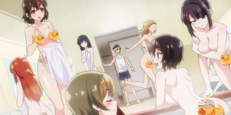 「洗い屋さん!~俺とアイツが女湯で!?」お風呂といえばお約束展開