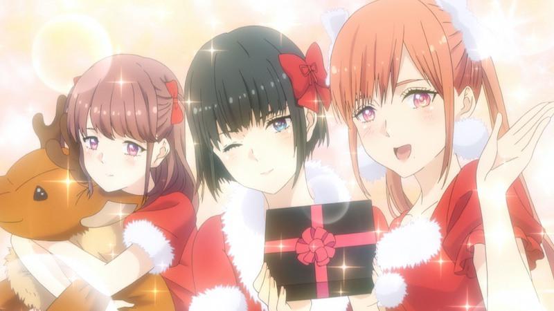 推し武道 8話 クリスマスを祝うChamJamメンバー