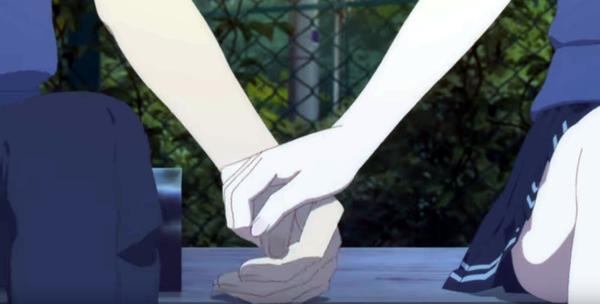 冴えカノfine 手をつなぐアキと恵