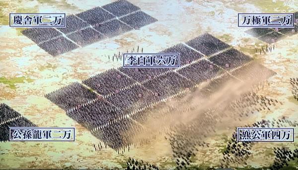 函谷関の戦い 趙軍12万の布陣 大きく4軍に分かれる