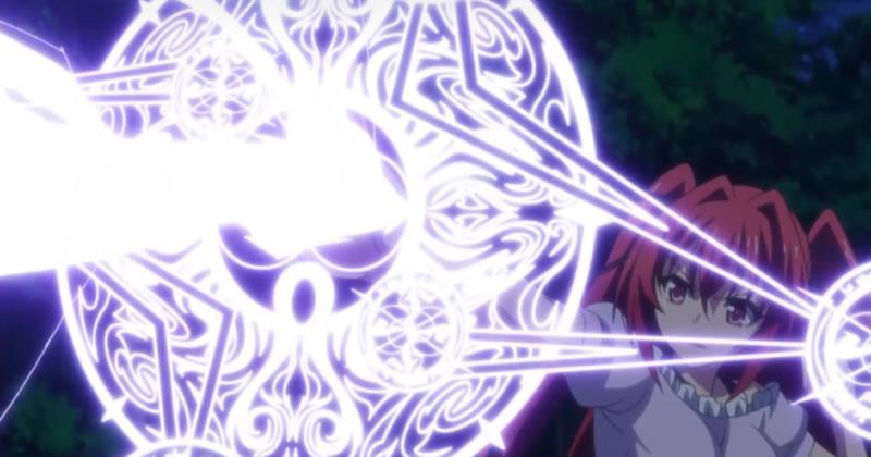 「新妹魔王の契約者」魔法で戦うミオ