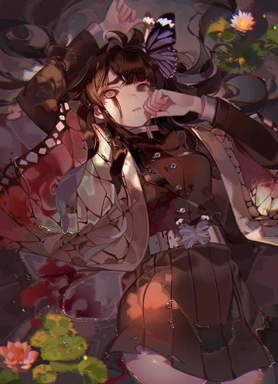 花の呼吸を使う 栗花落カナヲ